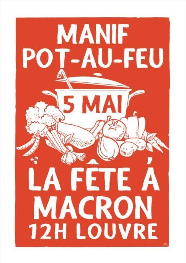 La manifestation du 5 mai, la