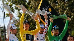 Geraint Thomas s'est fait voler son trophée de vainqueur du Tour de