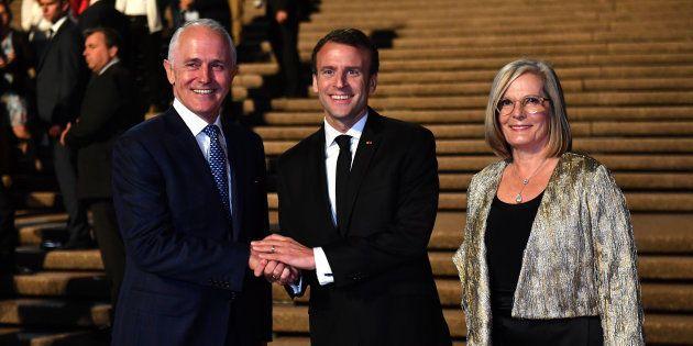 Macron a bien fait rire les Australiens en parlant de la