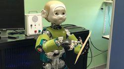 Ce robot a une très bonne raison de vous faire de