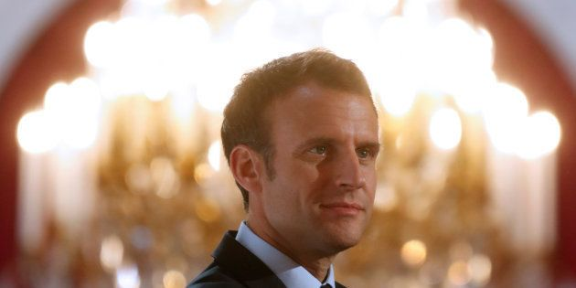 Le président de la République Emmanuel