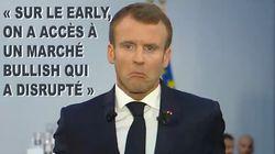 Vous n'allez pas croire la quantité de franglais que Macron a utilisé juste avant le sommet de la