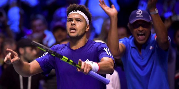 Finale de Coupe Davis: Français et Belges dos à dos après le premier