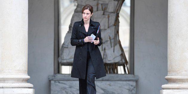 Juliette Méadel à l'Elysée le 3 mai