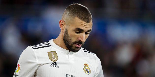Karim Benzema lors d'Alaves-Real Madrid le 6 octobre