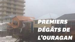 En Floride, les premiers dégâts de l'ouragan