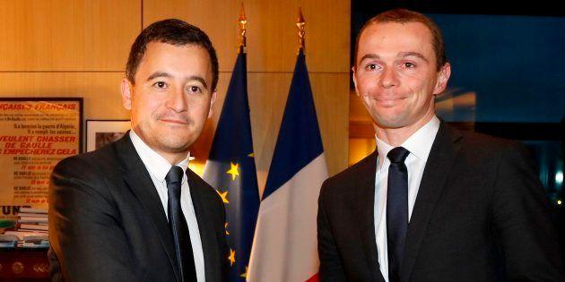 Olivier Dussopt et Gérald Darmanin n'ont pas toujours échangé de tels