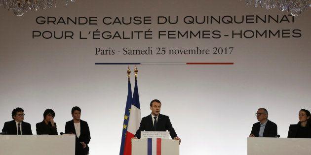 Ces pans oubliés par Macron qui laissent certains féministes sur leur