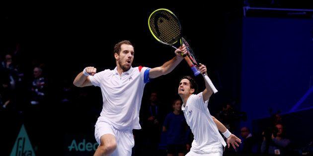 Finale de la Coupe Davis France - Belgique: grâce au double, les bleus virent en