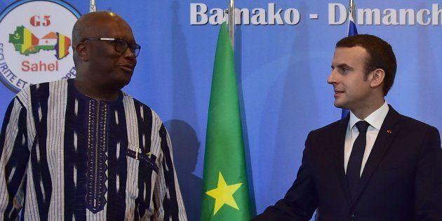 Pourquoi Macron (ici avec le président Kabore) a choisi le Burkina Faso pour son grand discours sur