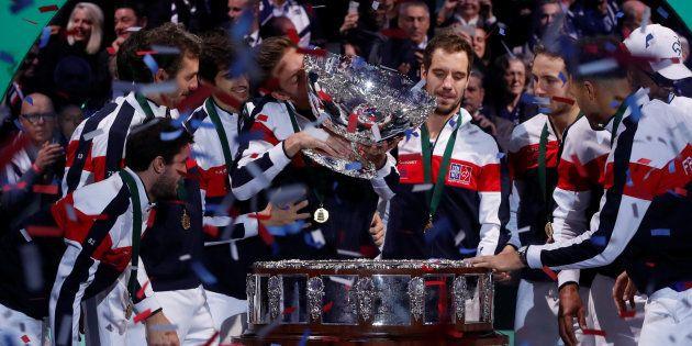Coupe Davis: la France remporte son dixième Saladier