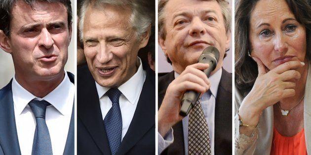 Valls, Royal, Borloo, Villepin... Quand Macron testait l'opinion sur ses futurs