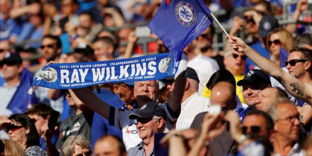 Supporters de Chelsea, photo