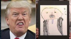 Ces enfants ont dessiné Trump et c'est cruel (mais mignon quand