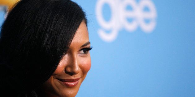 Cast member Naya Rivera poses at the premiere for the second season of the television