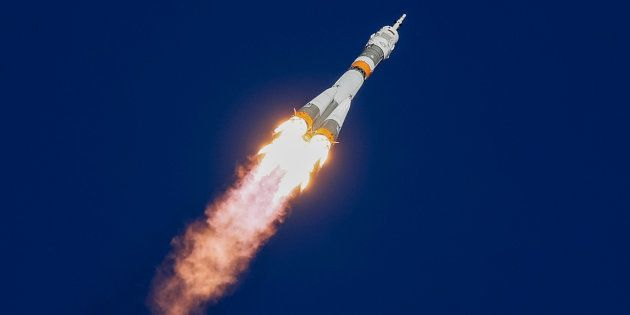 La vaisseau spatial russe Soyouz MS-10, qui devait rejoindre la Station spatiale internationale (ISS),...