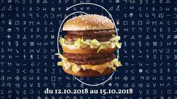McDo ressort son Mega Mac, comme après France
