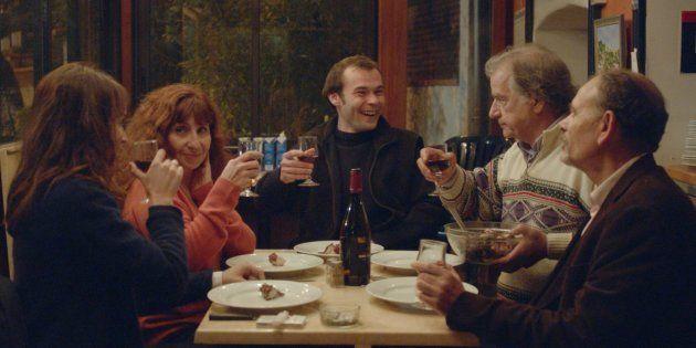 De gauche à droite, Anaïs Demoustier, Ariane Ascaride, Robinson Stévenin, Gérard Meylan et Jean-Pierre...