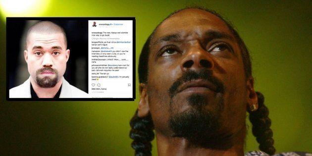 Snoop Dog lance un tacle à Kanye West après ses déclarations sur
