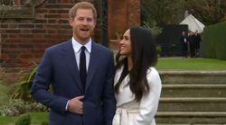 Les images de Meghan Markle et du prince Harry dans les jardins du palais de
