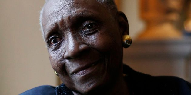 Maryse Condé (ici en mai 2015) reçoit le prix Nobel de littérature