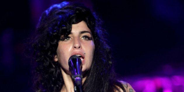 Amy Winehouse sur scène en