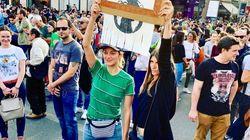 Marion Cotillard est allée à la Marche pour le climat