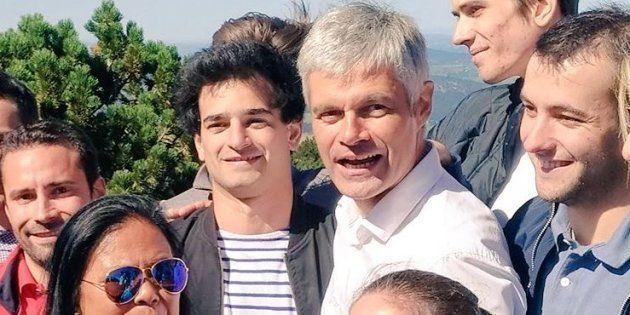 Aurane Reihanian (ici le 26 août avec Laurent Wauquiez) élu président des jeunes LR, le scrutin entaché...