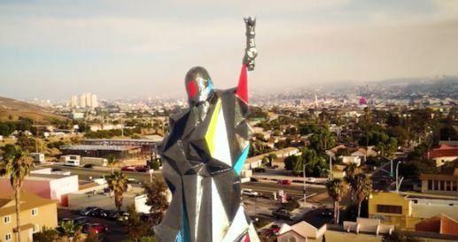 Une nouvelle Statue de la Liberté en projet à la frontière