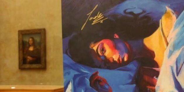 Cette fan de Lorde a accroché une lithographie
