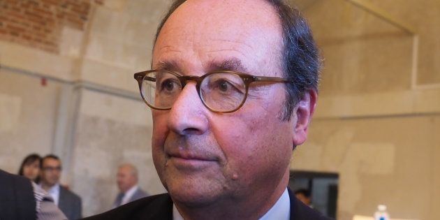 François Hollande lors des Rendez-vous de l'Histoire de Blois le 14 octobre