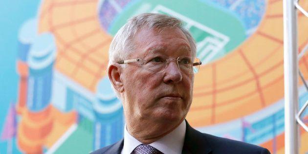 Sir Alex Ferguson (ici à Glasgow en octobre 2016) a été opéré du cerveau après une hémorragie