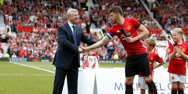 Sir Alex Ferguson à Manchester le 4 juin