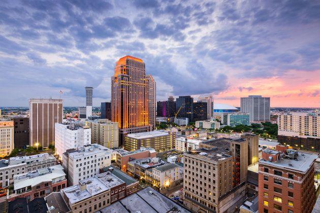 New Orleans, Louisiana, USA CBD skyline at