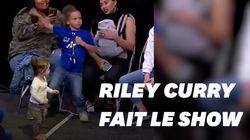 Riley Curry vole encore la vedette à son père Stephen