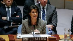 Washington menace Pyongyang de destruction et appelle à couper tous liens diplomatiques et