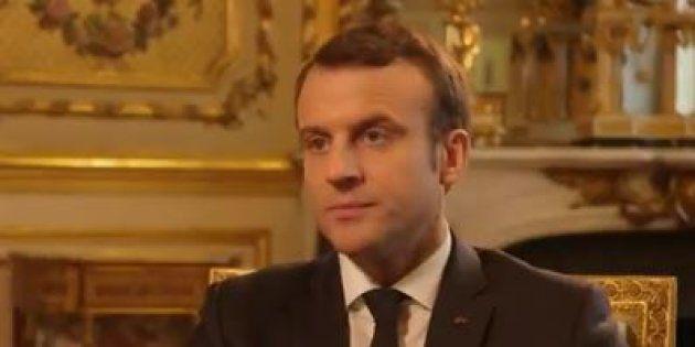 Emmanuel Macron dans le
