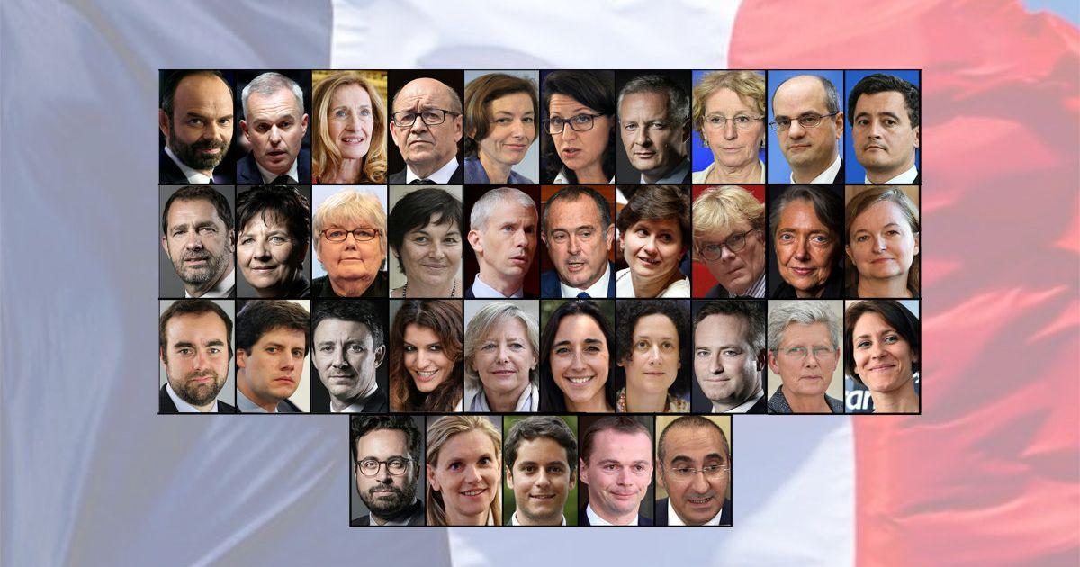 Le Nouveau Gouvernement Philippe Au Complet Decouvrez Tous Les Ministres Le Huffpost