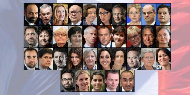 Le nouveau gouvernement d'Edouard