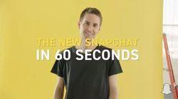 Si votre Snapchat va changer de look, c'est à cause de la