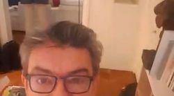 Jean-Luc Mélenchon filme une perquisition à son