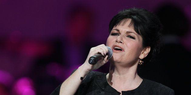 Maurane en concert à Paris en
