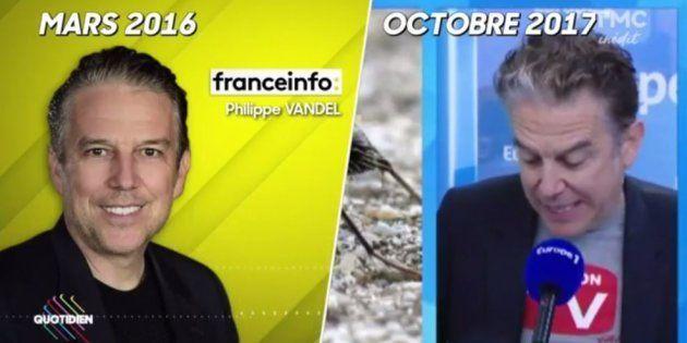 Philippe Vandel reprend mot pour mot ses vieilles chroniques de Franceinfo chez Europe