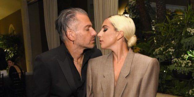 Christian Carino et Lady Gaga au 25ème gala