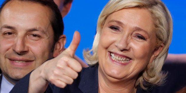 Marine Le Pen à Nice le 1er mai