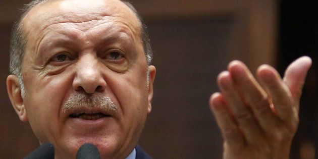 La violente charge de Recep Tayyip Erdogan contre