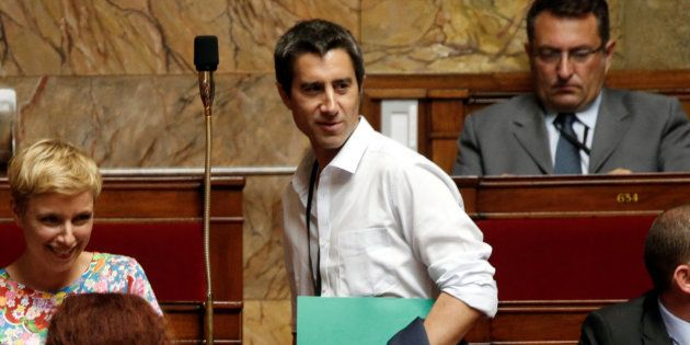 François Ruffin à l'Assemblée nationale en juillet