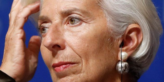 Christine Lagarde (ici le 4 octobre à Tokyo) annule sa participation à une conférence à Ryad après la...