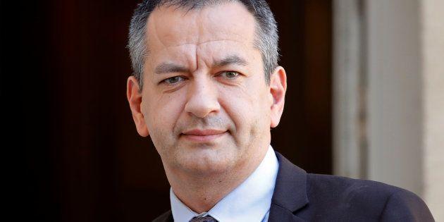 Pascal Pavageau, ici le 7 mai 2018 à Matignon, démissionne de la tête de Force