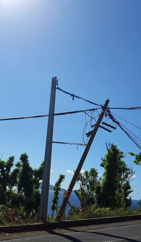 Plus de deux mois après l'ouragan Maria, toute la Guadeloupe n'a pas encore accès à Internet et au